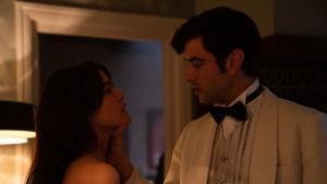 Adriana Ugarte y Javier Rey, en 'Hache'.