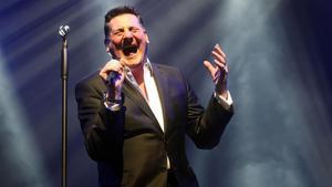Tony Hadley, en el concierto que ofreció el viernes en el Liceu