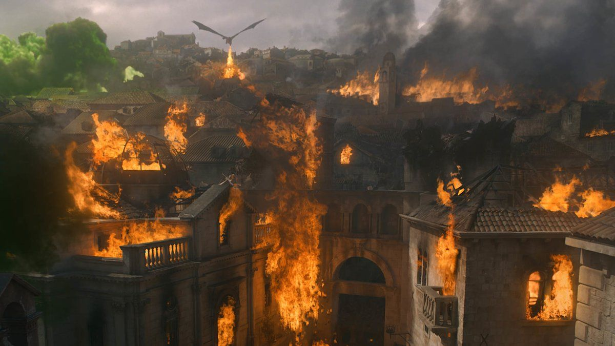 Una imagen del capítulo quinto de la octava temporada de 'Juego de tronos'