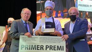 Guillem García guanya el 'masterchef' d'alumnes catalans de cuina