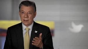 Juan Manuel Santos confia haver arribat aun acord definitiu en aquelles dates.