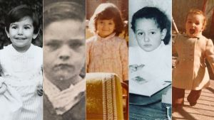 Rocío Monasterio, Ángel Gabilondo, Isabel Díaz Ayuso, Edmundo Bal y Mónica García, cuando eran pequeños.