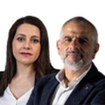 Inés Arrimadas y Carlos Carrizosa