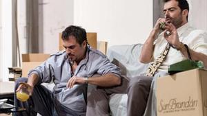 Productores 8Julio Manrique y David Selvas, en 'Una altra pel·lícula', de David Mamet.