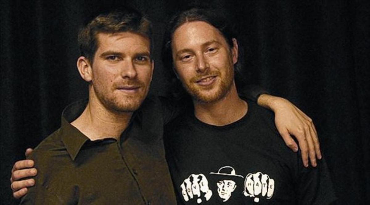 Marco Mezquida (izquierda) y Pablo Selnik (derecha).