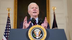 Biden, en una imagen del pasado viernes.