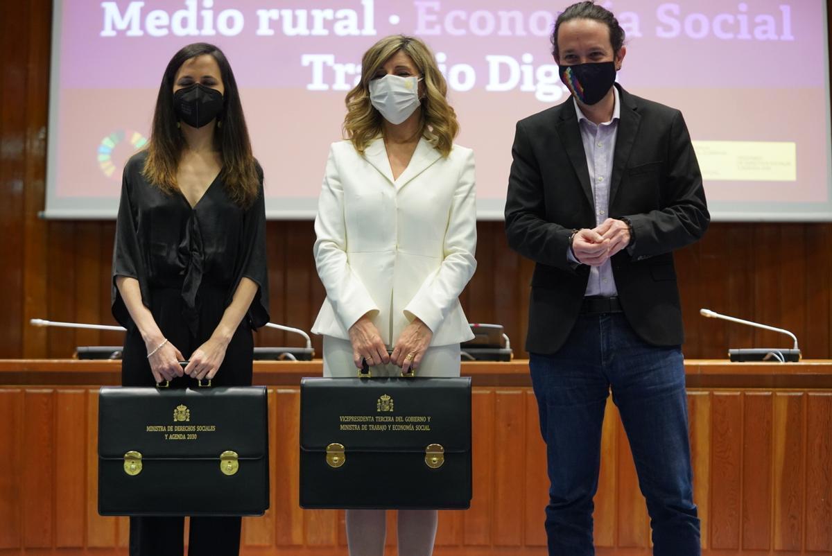 L'herència d'Iglesias: un partit a reformar i la tasca incessant de negociar amb el PSOE