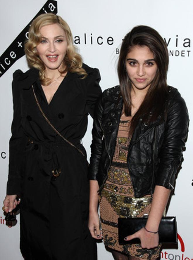 Madonna i la seva filla Lourdes, el 28 d'abril passat, en una gala a Nova York.