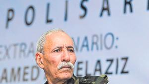 Brahim Ghali, líder del Frente Polisario y presidente de la República Árabe Saharaui Democrática, en una foto de archivo.