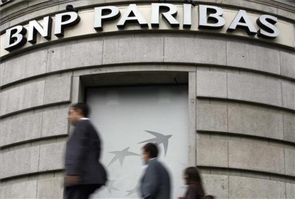 La sede de BNP Paribas en París.