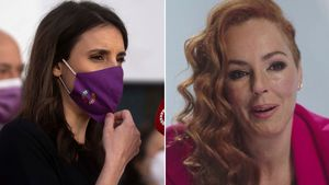 Irene Montero recolza Rocío Carrasco: «És una víctima de violència de gènere»