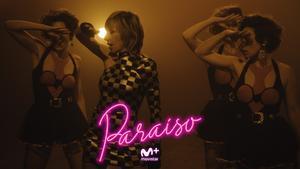 Ana Torroja en el videoclip de 'Paraíso', el tema principal de la serie de Movistar+