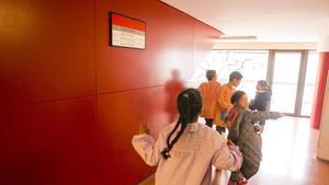 Una escuela pública de Barcelona.
