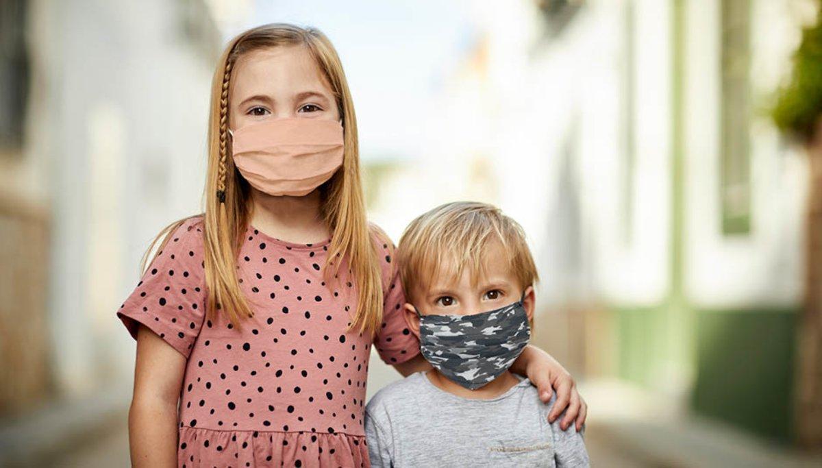 Mascarillas infantiles SanityMask