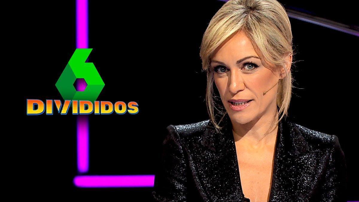 Luján Argüelles en la promo de 'Divididos'.