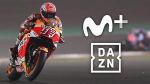 Movistar+ recupera el mundial de MotoGP tras su acuerdo con DAZN.