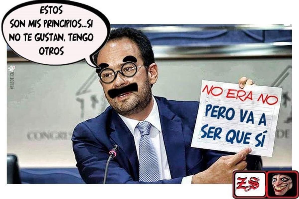 Los mejores memes de Antonio Hernando tras su discurso en el Congreso