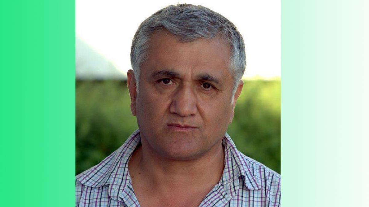 El periodista y escritor kurdo-sueco Hamza Yalçin.