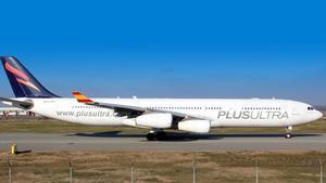 Un avión de Plus Ultra