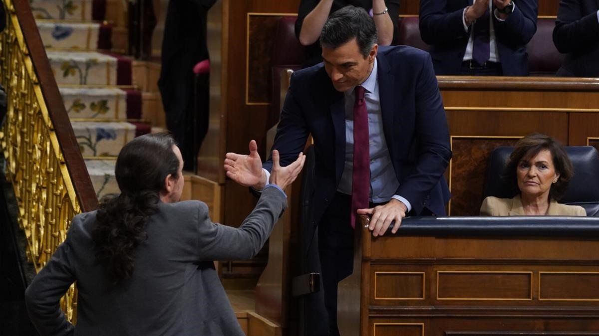 Sánchez i Iglesias acorden avançar l'ingrés mínim vital al maig