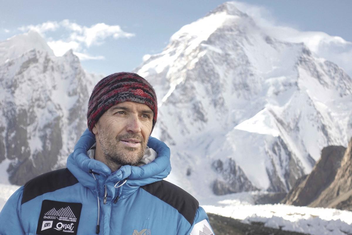 El alpinista y exalcalde de Parets, Sergi Mingote