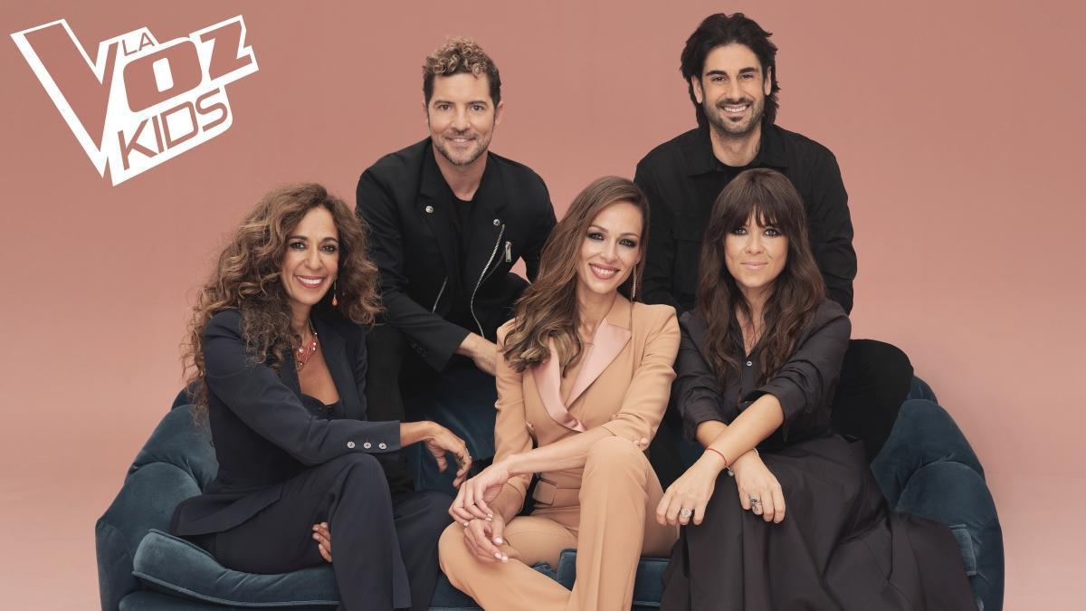 'La voz kids' regresa esta noche a Antena 3 con David Bisbal, Rosario Flores, Vanesa Martín y Melendi como coaches