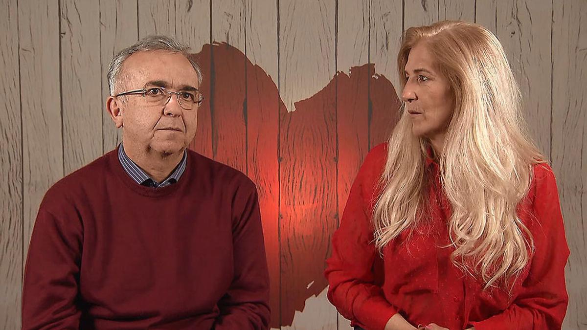 Antonio y Rosa en 'First Dates'