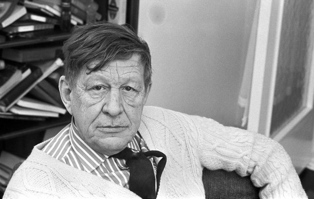 El poeta inglés W. H. Auden.
