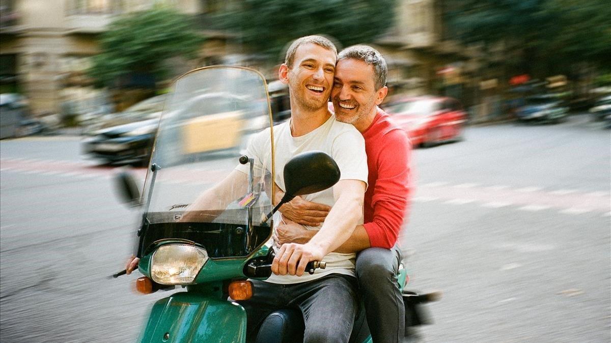 Albert Triola y Ramon Pujol protagonistas de'Smiley, després de l'amor'.