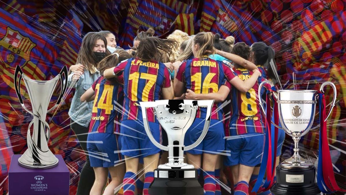 ¡El Barça gana un nuevo triplete!