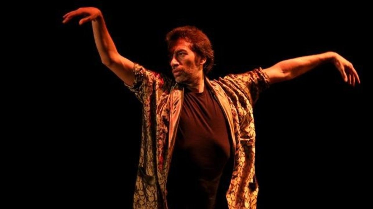 Israel Galván presenta en el Grec su último espectáculo, 'La fiesta'.