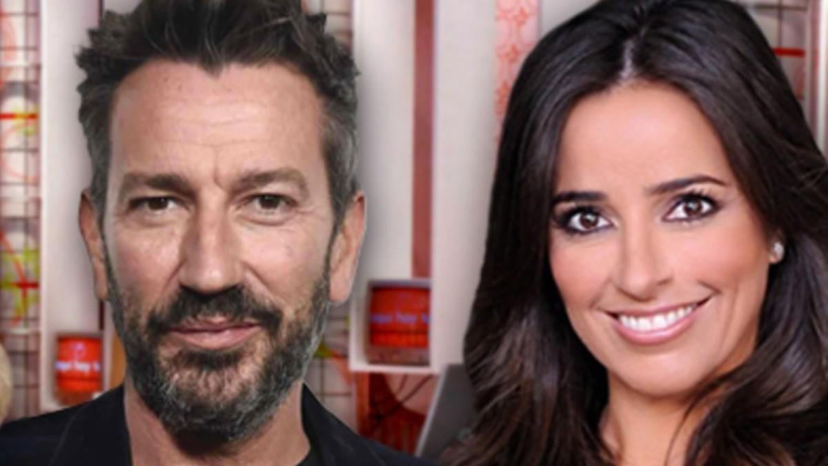 David Valdeperas y Carmen Alcayde, presentadores de 'Aquí hay madroño' en Telemadrid.