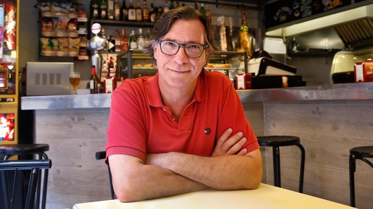 El actor Alex Casanovas, presidente de la Associación de Actores y Directores de Catalunya.