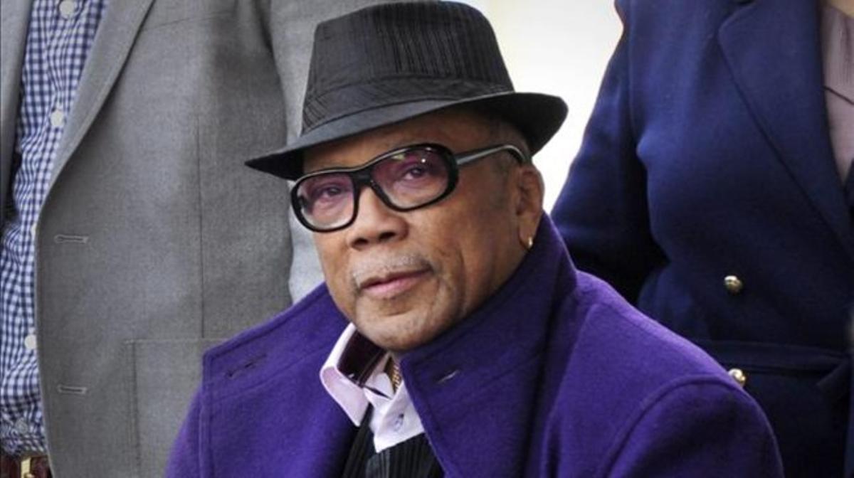 El productor Quincy Jones, en el 2011.