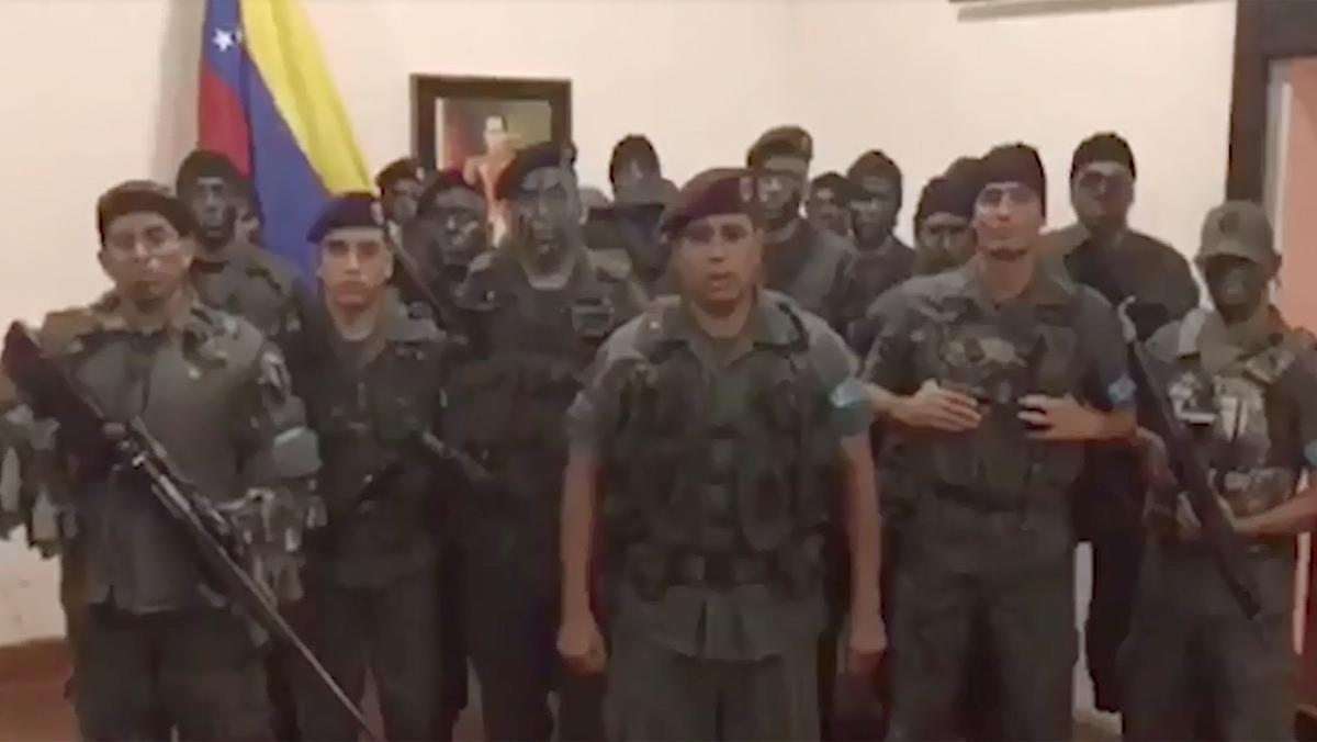 El Ejército frena el asalto a un cuartel militar en Venezuela