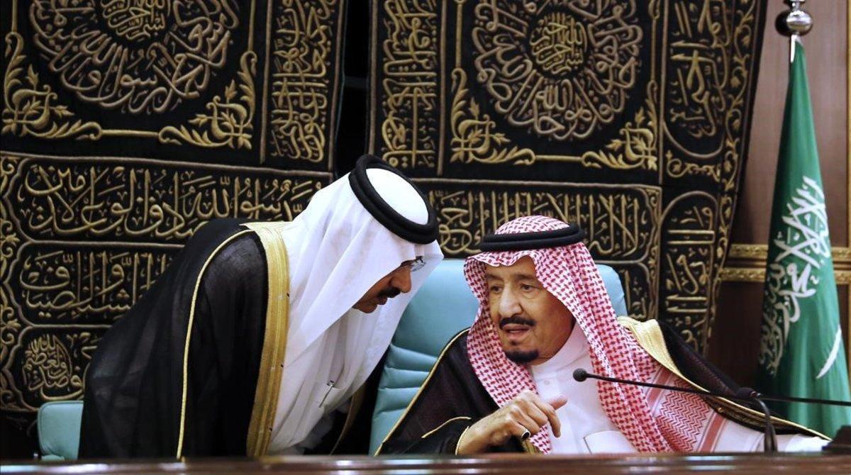 Salman, el rey de Arabia Saudí, el pasado 1 de junio.