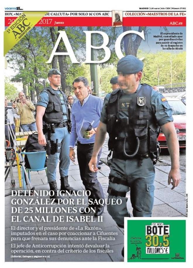 El quiosco le dice a Rajoy que ya vale, da a Aguirre por acabada y señala a Marhuenda