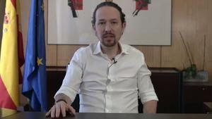 Pablo Iglesias anuncia su decisión de dejar el Gobierno para luchar contra Díaz Ayuso.