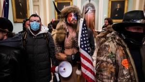Seguidores de Donald Trump durante el asalto al Capitolio el pasado 6 de enero.
