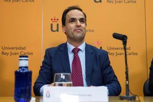 El rector de la Universidad Rey Juan Carlos de Madrid, Javier Ramos.