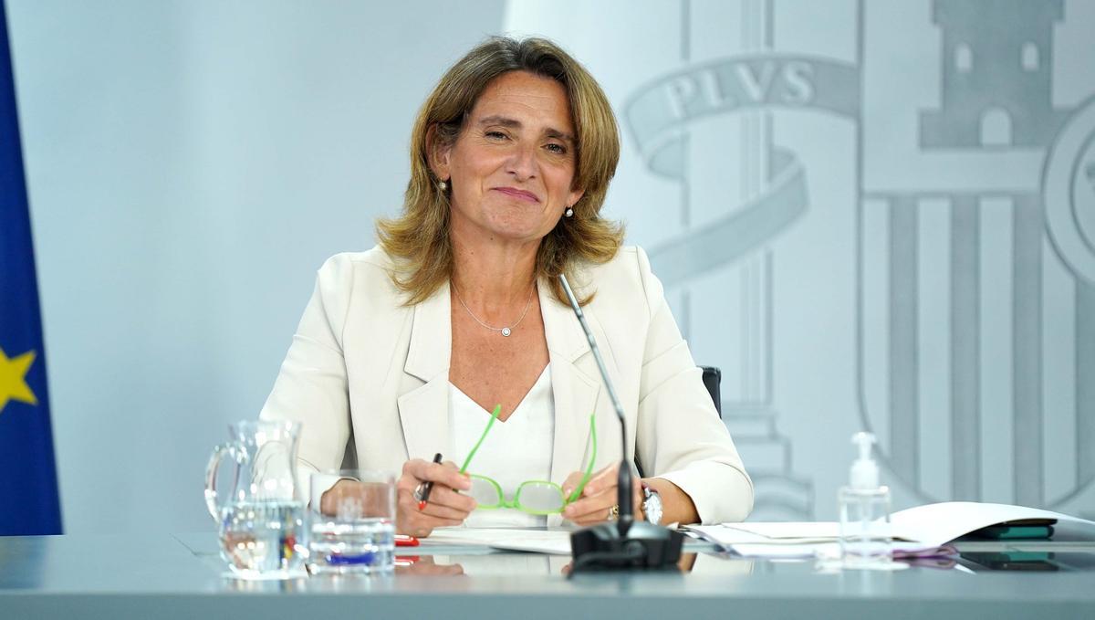 La ministra de Transición Ecológica y Reto Demográfico, Teresa Ribera.