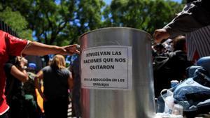 La gana truca a la porta de la ciutat de Buenos Aires
