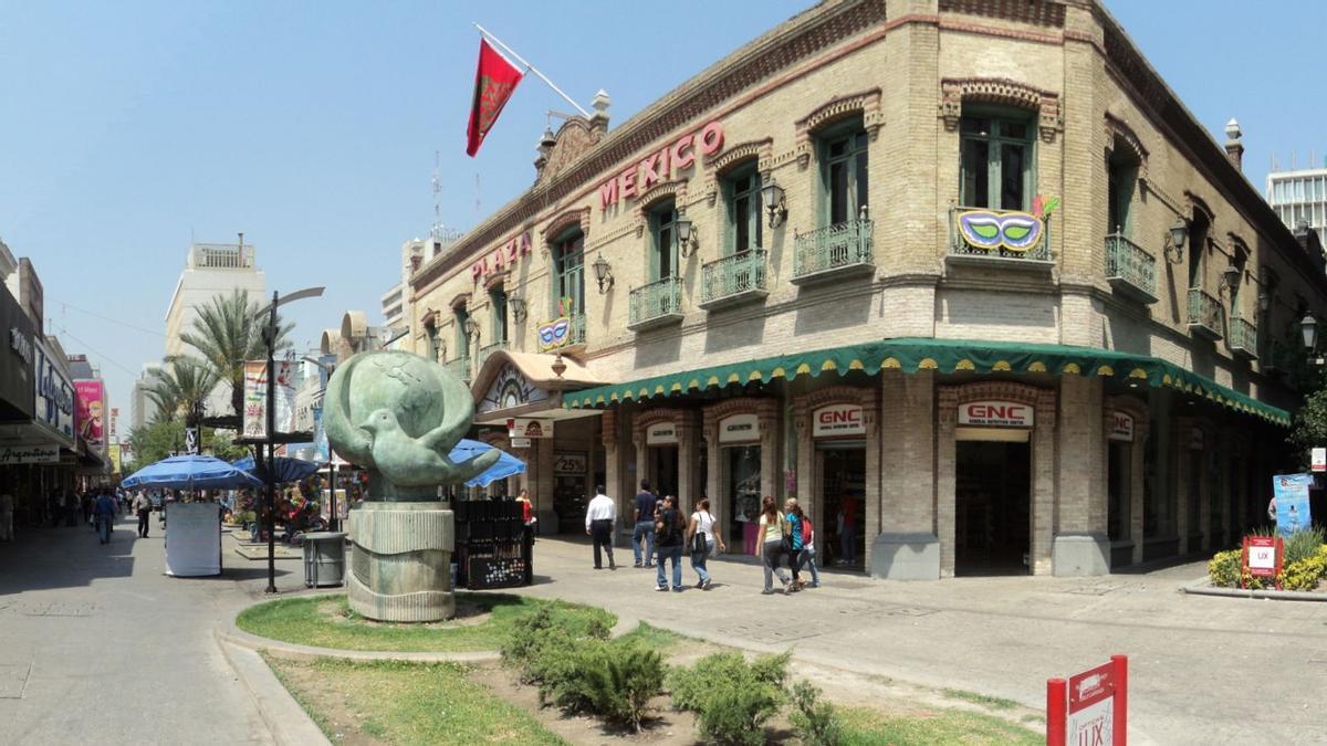 internacional  FOTOS DE LA CIUDAD DE mONTERREY  MEXICO   PASEO COMERCIAL  MORELOS