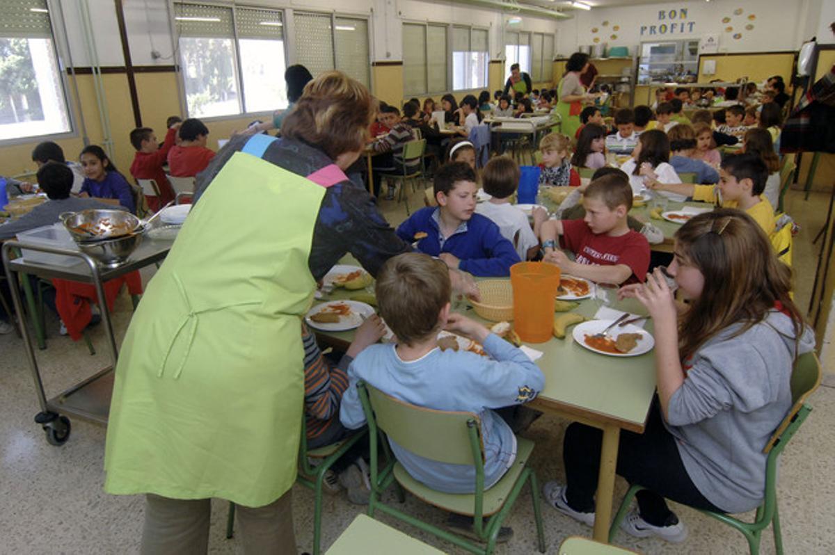 Un comedor escolar