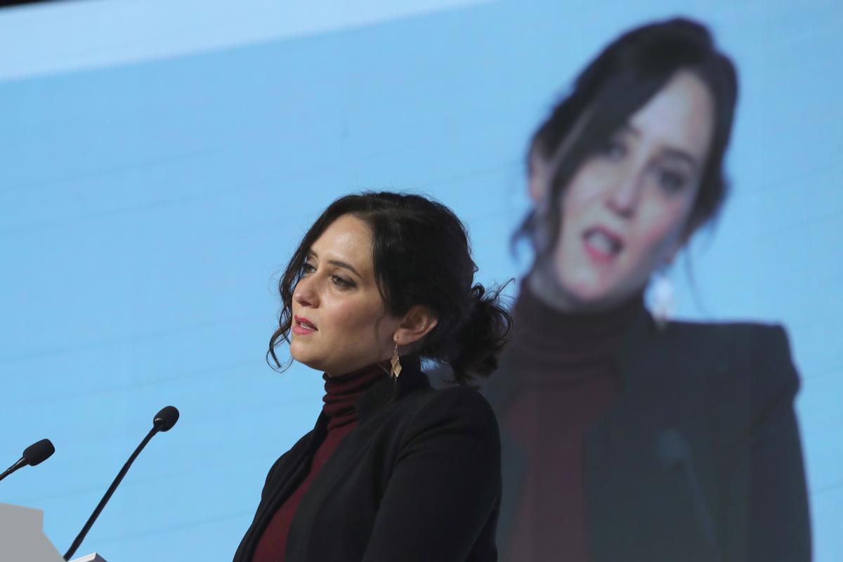 La presidenta de la Comunidad de Madridl, Isabel Díaz Ayuso.