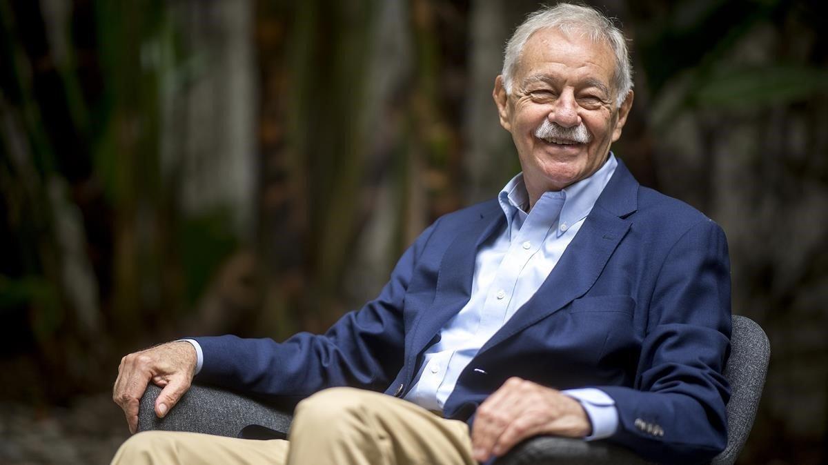 El escritor catalán Eduardo Mendoza, en el 2019.