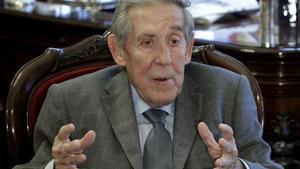 Francisco Rubio Llorente, en el 2011.
