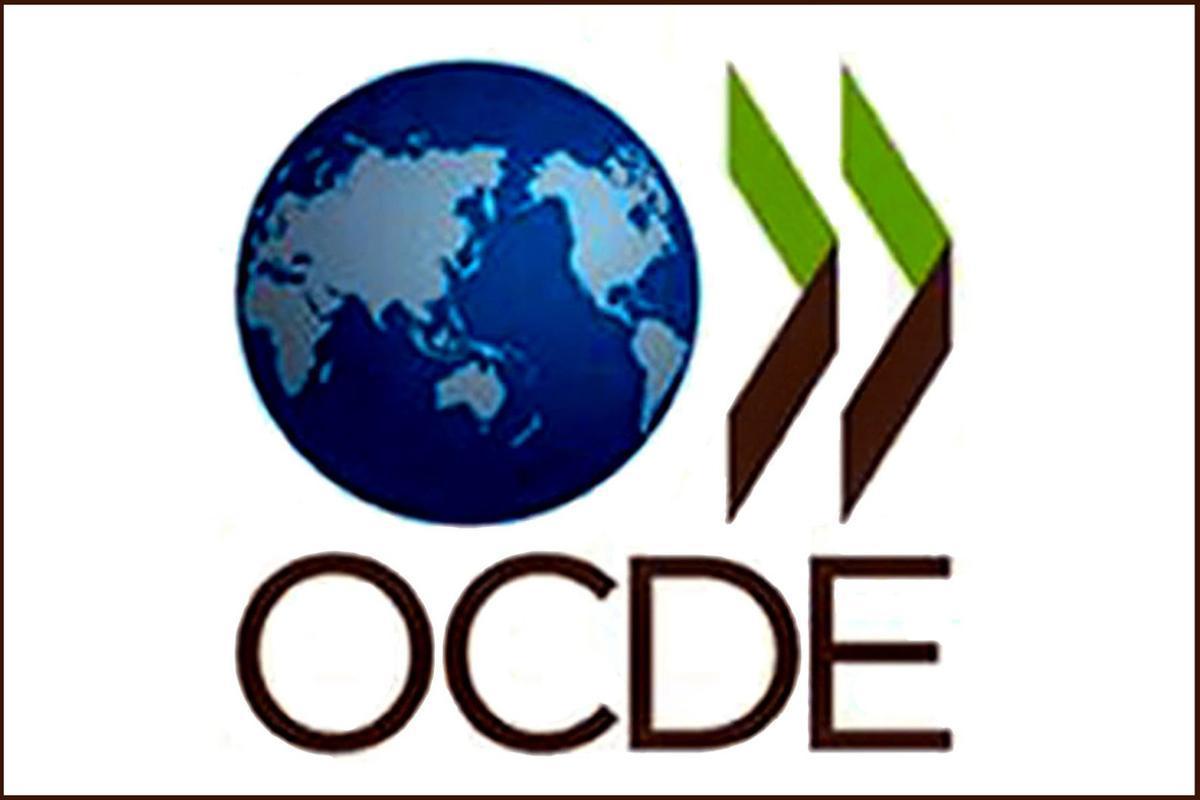 Logótipo da OCDE, 09 de maio de 2011.  LUSA