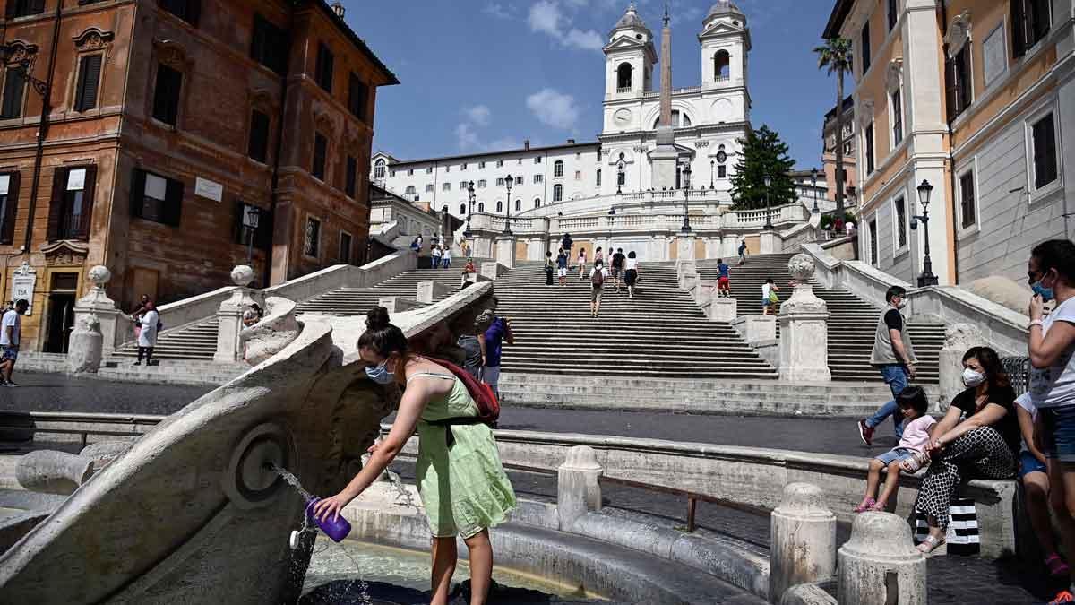 La forta onada de calor colpeja Itàlia amb màximes de fins a 48 graus
