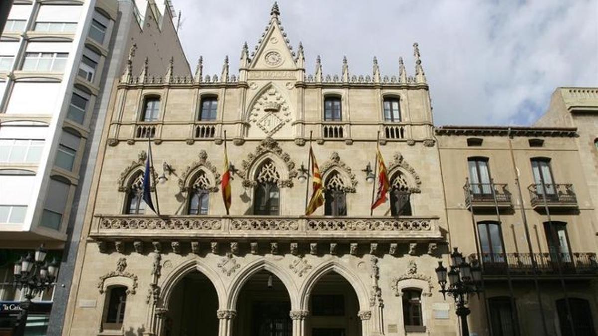 Fachada del Ayuntamiento de Terrassa